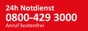 24h Notdienst für Heizung & Sanitär
